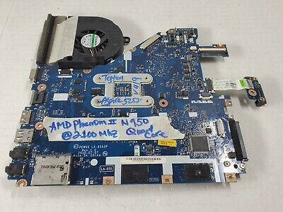 Acer Aspire 5252 5552G AMD Motherboard LA-6552P W/CPU N950 @ 2100Mhz Wifi Fan