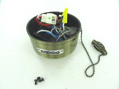 Used Fanimation Ceiling Fan Switch Case/Housing with Switches/Capacitor/Parts