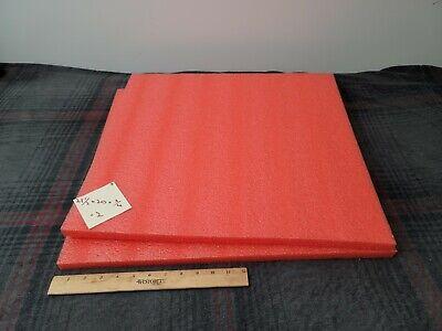 2 Polyethylene Foam Sheets 21-12 20 34