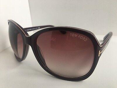 d651308465e Tom Ford Sheila TF 186 TF186 83Z Burgundy 62mm Women s Sunglasses Italy T1