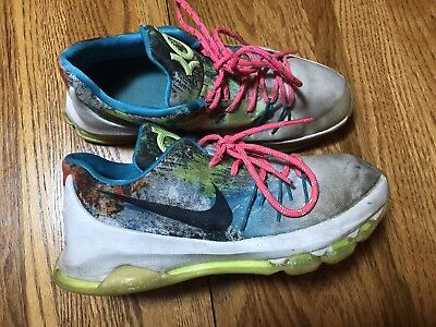2fe21ac25d282 Nike KD Zoom N7 Youth Boys Size 4.5 Basketball Shoes