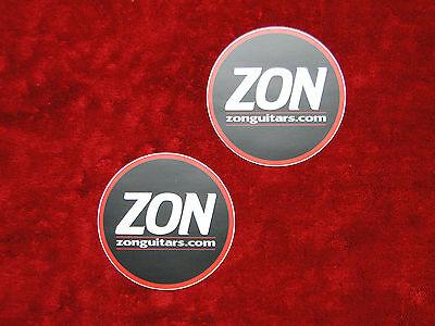 Zon Guitars TWO Sticker Set.......