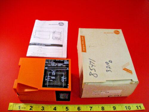 Efector DN0012 Amplifier 110v ac Ifm Signal 24vdc 100mA N600/110VAC/0.1a Nib New