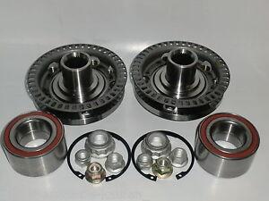 217h) 2 x Radlager + Radnabe ABS Ring vorne 5Loch VW Golf 4 IV Bora auch Variant