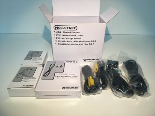 Universal Remote Control Sensor And Cable Accessory Pack (MSC-START)