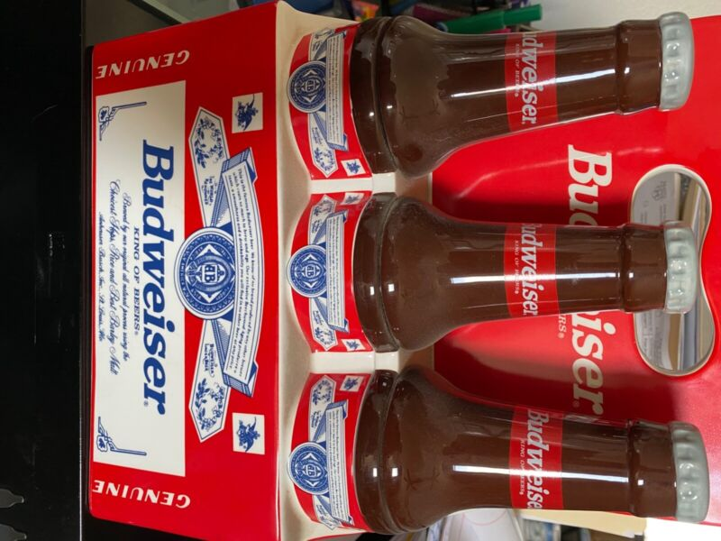 budweiser cookie jar fill with ice and beers or Christmas cookies. :-)