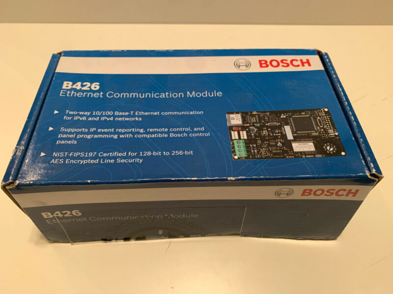 Bosch B426-Ethernet Communication Module-New