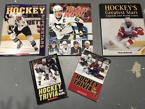 NHL Hockey Books for Kids