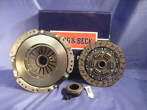 MG MGB 1800 BORG AND BECK 3 PART HEAVY DUTY CLUTCH KIT WITH ROLLER RELEASE BCS8
