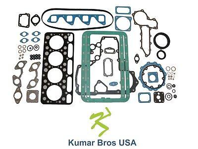 New Kumar Bros Usa Full Gasket Set For Bobcat 743 Kubota V1702
