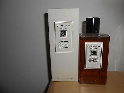 Jo Malone Rosemary & Lavender Skin Tonic 8.5 oz 250 ml New In Box