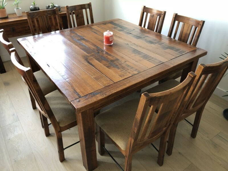 Extension Dining Table Downsizing Sale Mordialloc Kingston Area Image 2 1 Of 7