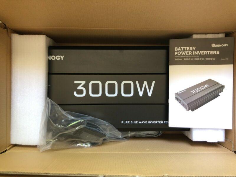 Renogy 3000w 12V Pure Sine Wave Inverter
