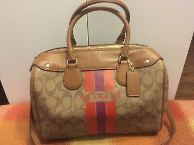 New Coach bag bowling style with tags