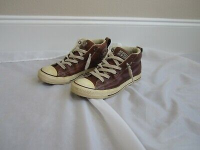 Converse 7 Chuck Taylor Leather High Tops All Star Chuck Taylor Leather High Tops