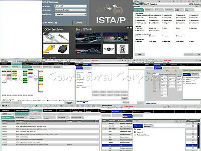 2020 ISTA+ D + ISTA P EDIABAS K+DCAN ICOM DIAGNOSTIC CODING 1 CLICK INSTALLER