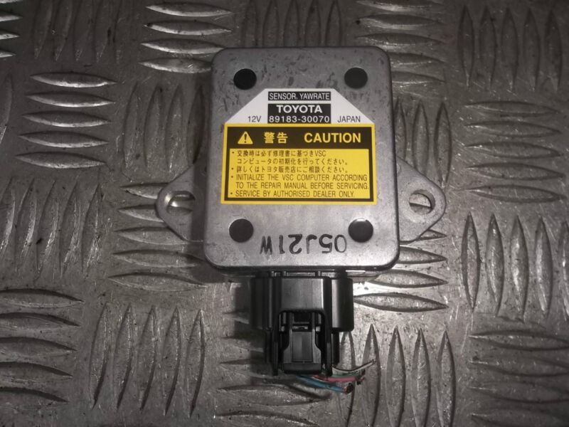 2006 LEXUS GS300 GS 300 ACCELERATION YAW RATE SENSOR 89183-30070