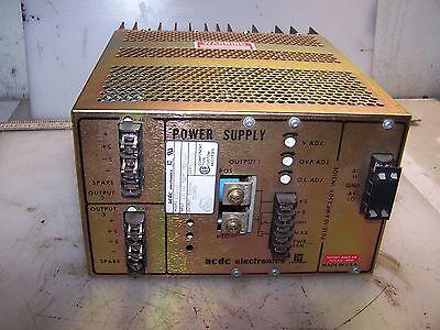 Emerson 12 5 Vdc Output Dc Power Supply 115 Vac Input Model Rt301-2