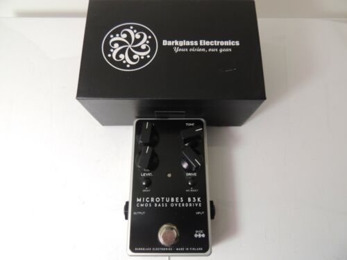 Darkglass Electronics Microtubes B3K CMOS Bass Overdrive Effect Pedal