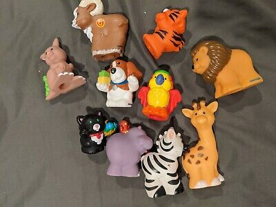 Fisher Price Little People Lot of 10 Animal Figures