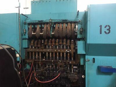 Waterbury Farrel 1512 Round Plunger 3ph Icop Transfer Press Warctrol-1 System