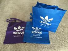 NEW x3 Adidas Originals Shopping Bags West Lakes Charles Sturt Area Preview