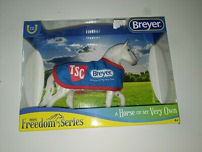 Breyer Freedom Series A Horse of My Very Own Tractor Supply White Percheron MIB