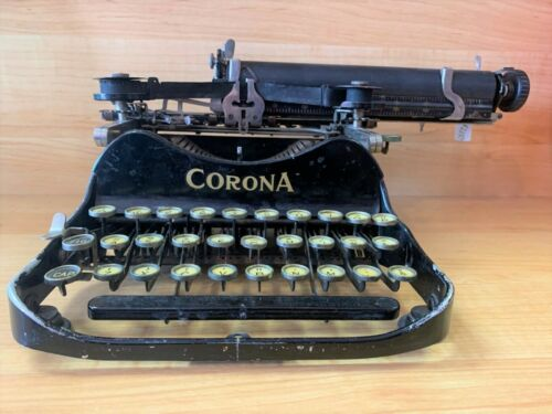 Antique Corona typewriter