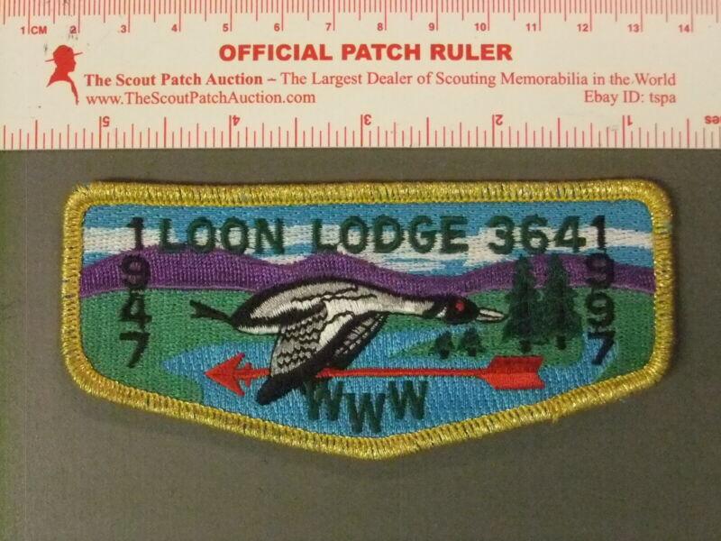 Boy Scout OA 364 Loon flap 6596JJ