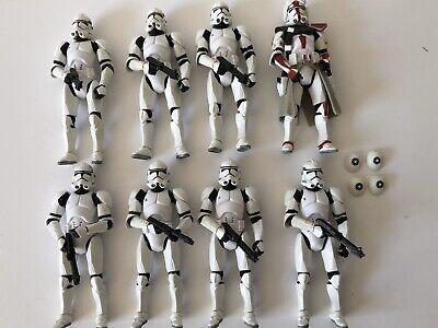 Star Wars Phase 2 Clone Troopers Vintage Kenner Hasbro Army Builder