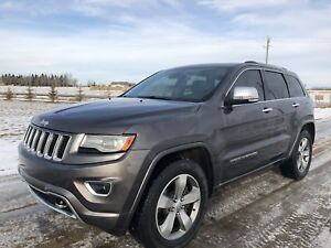 2014 JEEP GRAND CHEROKEE OVERLAND. **IMMACULATE**