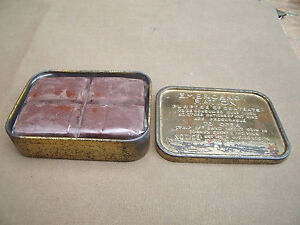 REPRODUCTION CHOCOLATE BAR. to fit WW2 EMERGENCY RATION TIN