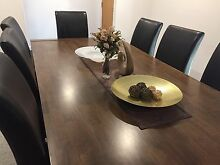 Stunning Dining table with 8 chairs rarely used Grange Charles Sturt Area Preview