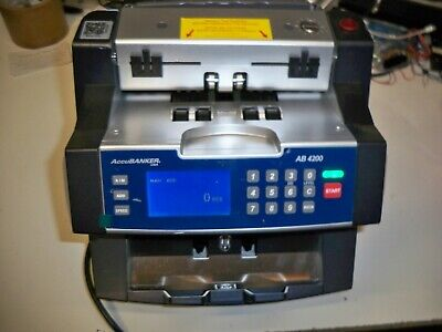 Accubanker Ab4200 Basic Bank Grade Bill Money Counter Machine
