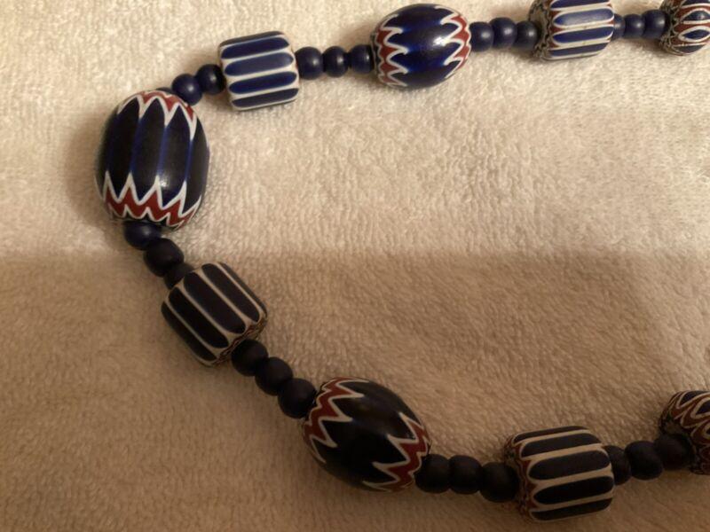 6layer Chevron  necklace