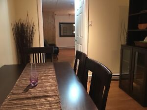 Furnished 4 1/2 apartment in vieux St. Laurent for rent