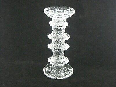 Iittala Festivo 4 Ring Candlestick Designed by Timo Sarpaneva Finland 1967
