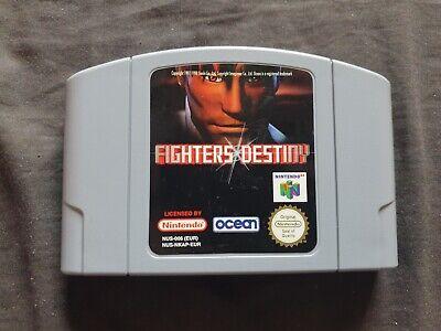 FIGHTERS DESTINY Nintendo 64 Game N64