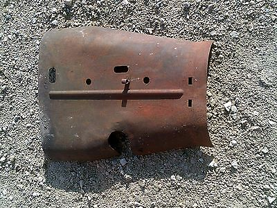 Mccormick Farmall F20 Tractor Engine Motor Hood Cover Panel