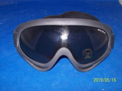 NEW WOLFBIKE UV400 GOGGLES - ADJUSTABLE HEADBAND, VENTED to FACE, FOAM FITTING