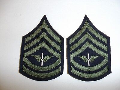 b1560p 1930s-WW2 US Army unofficial Army Air Corp Technical Sergeant chevron R1D