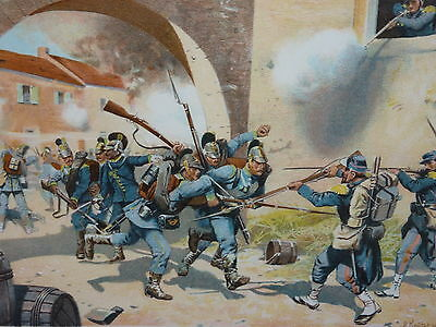 Deutsch-Französischer Krieg 1870/71 Schlacht bei Sedan 1870 R. Knötel