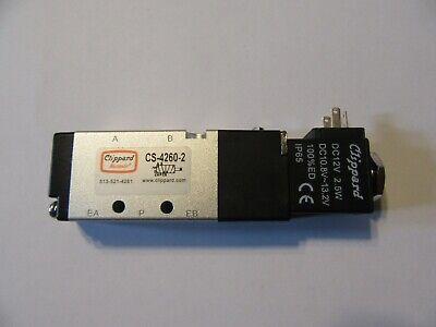 Maximatic Clippard 12 Volt Solenoid Valve Cs-4260-2 19g19