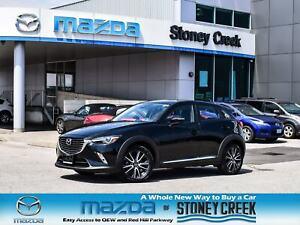 2018 Mazda CX-3 GT Nav Leather Moonroof AWD