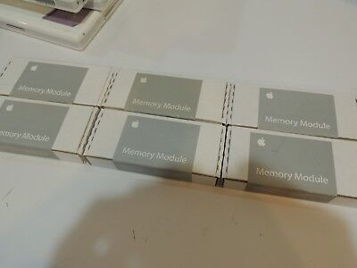 Lot of 6 128MB PC133 133Mhz SDRAM SODIMM CL3 144-Pin Laptop Memory Apple M9334G Pin Sodimm Pc133 Laptop Memory