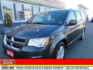 2018 Dodge Grand Caravan  Crew Plus/AS LOW AS $94.00 A WEEK