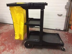 Rubbermaid Janitor Utility Cart