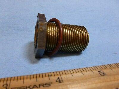 627651 SCREW, OIL PRESSURE RELIEF VALVE- ADJUSTING w/ LOCK NUT & GASKET