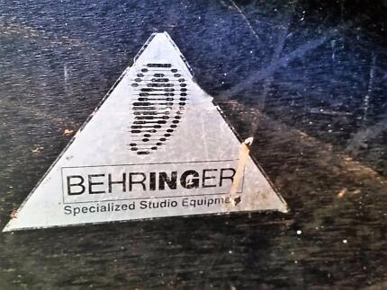 Large Behringer Audio Mixer