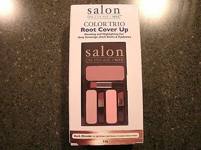 SALON ON 5TH AVE/NYC COLOR TRIO ROOT COVER UP  DARK BLONDE***FREE SHIPPING!